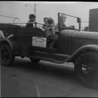 Old Vehicle in the Diamond Jubilee Parade