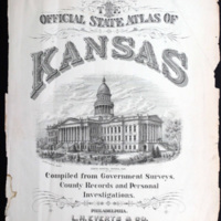 Title Page of the Official Atlas of Kansas 1887