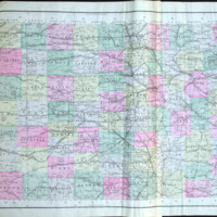 Topographical Map of Kansas